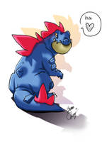 Pokemon - Feraligatr by br3nna