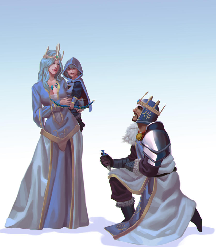 ashe and tryndamere relationship test
