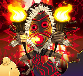 BanQ_Fire voodoo by BanQ