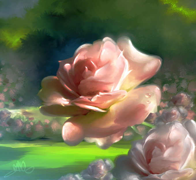 BanQ_Rose garden by BanQ