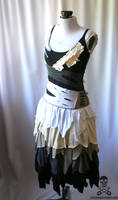 Zombie Ragdoll Dress 2 by smarmy-clothes