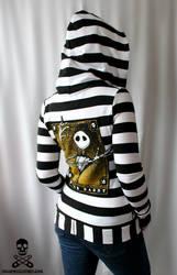 Jack Skellington Hoodie by smarmy-clothes