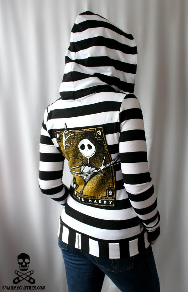 Jack skeleton hoodie