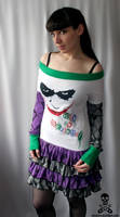why so serious Joker Dress 2 by smarmy-clothes