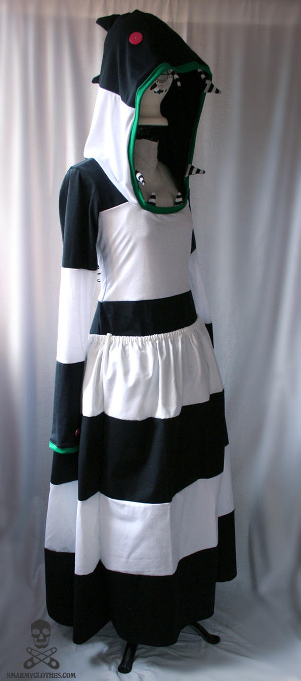 Beetlejuice Sandworm Hoodie by smarmy-clothes