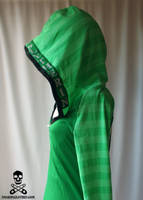 Harry Potter Slytherin Hoodie3 by smarmy-clothes