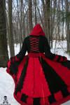 Queen of Hearts Sweater Coat