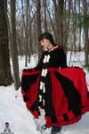 Queen of Hearts Sweater Coat 2