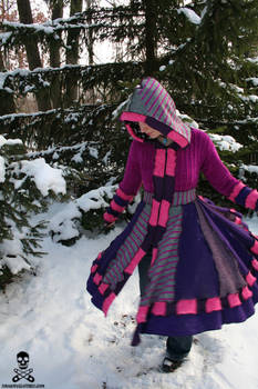 Cheshire Cat Sweater Coat 2