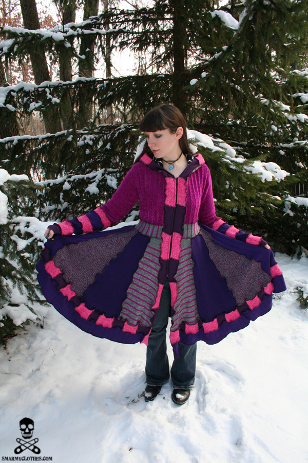Cheshire Cat Sweater Coat 4 by smarmy-clothes