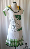 Green Day hoodie dress 4 by smarmy-clothes