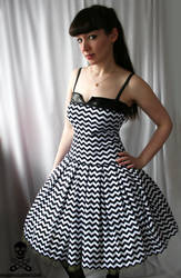 zigzag swing dress 2 by smarmy-clothes