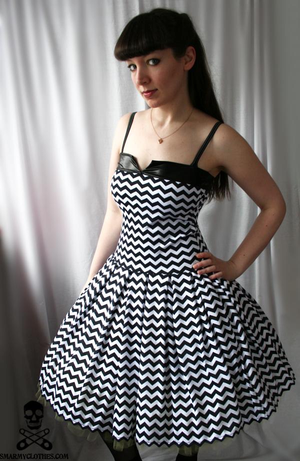 zigzag swing dress 2