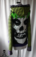 misfits stripe hoodie 4 by smarmy-clothes