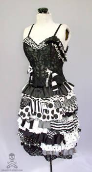 Psycho Sideshow ragdoll gothic zombie circus dress