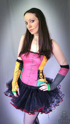 Nightmare Before Christmas Sally corset top