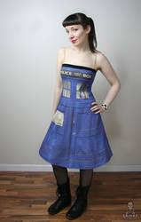 Dr. Who Tardis police box dress