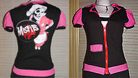 misfits waitress top by smarmy-clothes