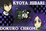 1896 Kyoya Hibari x Dokuro Chrome [KHR Pairng] by Knilla