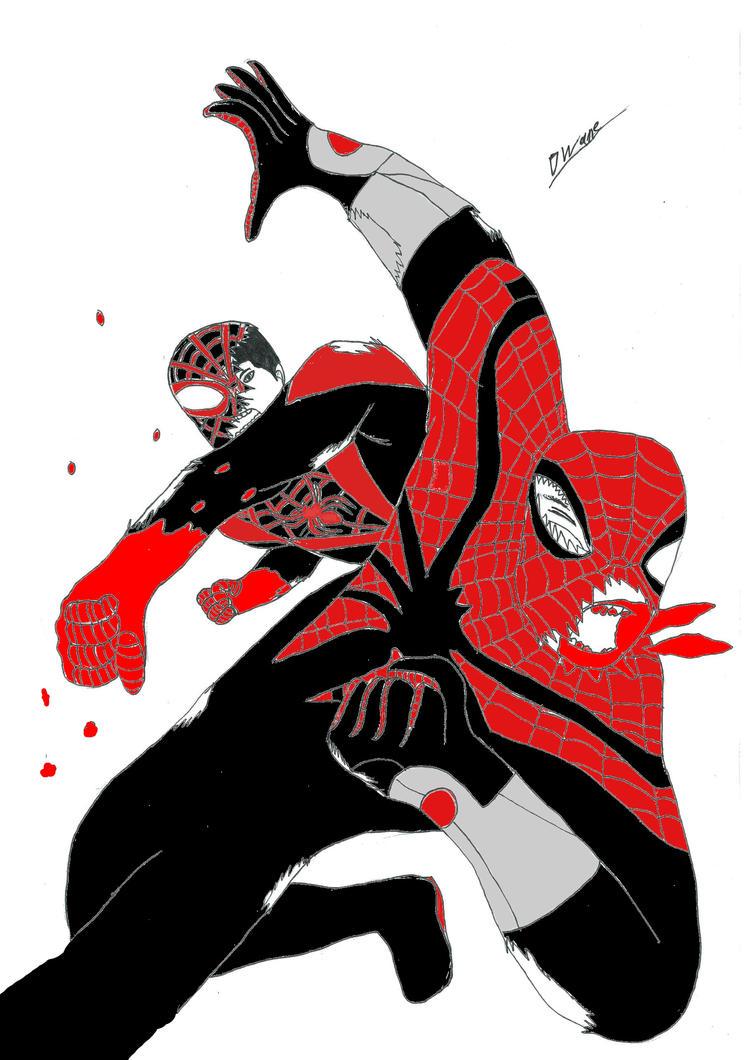 Ultimate spiderman vs spiderman - photo#8