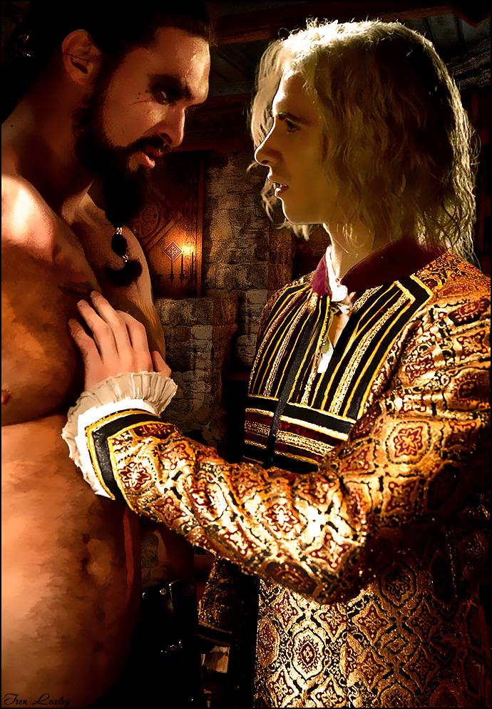 Game Of Thrones Khal Drogo Viserys Targaryen 4 By Iren Loxley On Deviantart