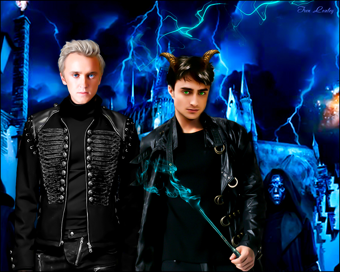 Dark Harry Draco Malfoy Death Eaters2 By Iren---Loxley On