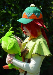 Mairin and Chespie - Pokemon