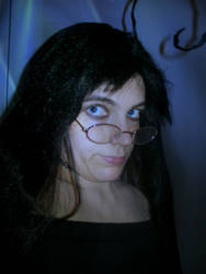 Dark in black dress by kaitlynrager