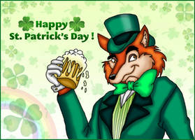 Happy St Patrick's Day! Foulfellow by kaitlynrager