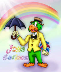 Jose Carioca by kaitlynrager