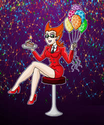 Happy Birthday to me Spectra by kaitlynrager
