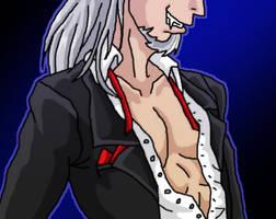 Vlad his chest