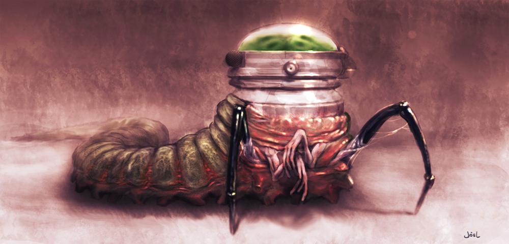 Alien Concept (Slug Crawler)