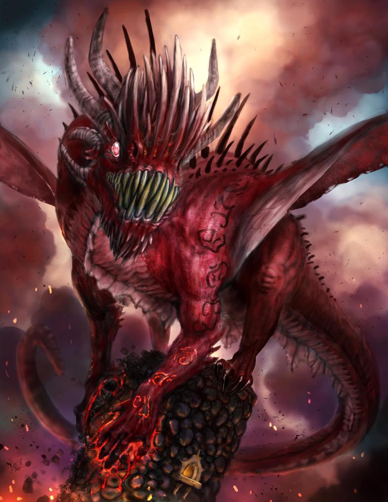 Dragon by SerranoArt