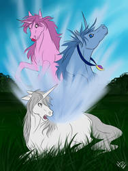 Charlie The Unicorn by Hercia