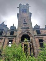 Abandoned asylum in Scotland