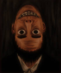 The Man With The Upside-Down Face