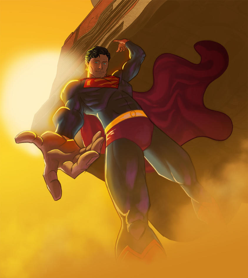 SUPERMAN, MAN, man... in Color by JNcomix