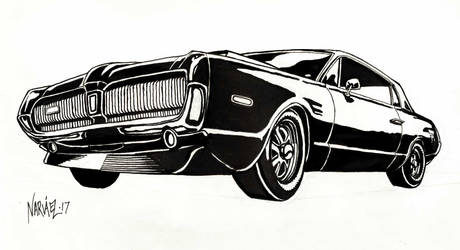 1968 Mercury Cougar by JNcomix