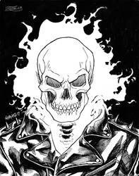 Ghost Rider by JNcomix