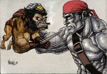 Fiend vs Colossus: Kitty's Fairy Tale by JNcomix