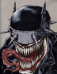 Mashup: Batman Who Laughs + Venom by JNcomix
