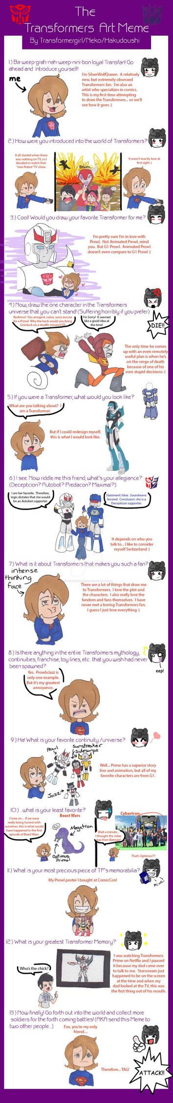 Transformers Art Meme