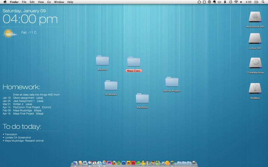 My Desktop Jan 2010