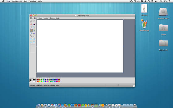 MS Paint in mac by ninique