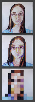 Pixelated Me by ninique