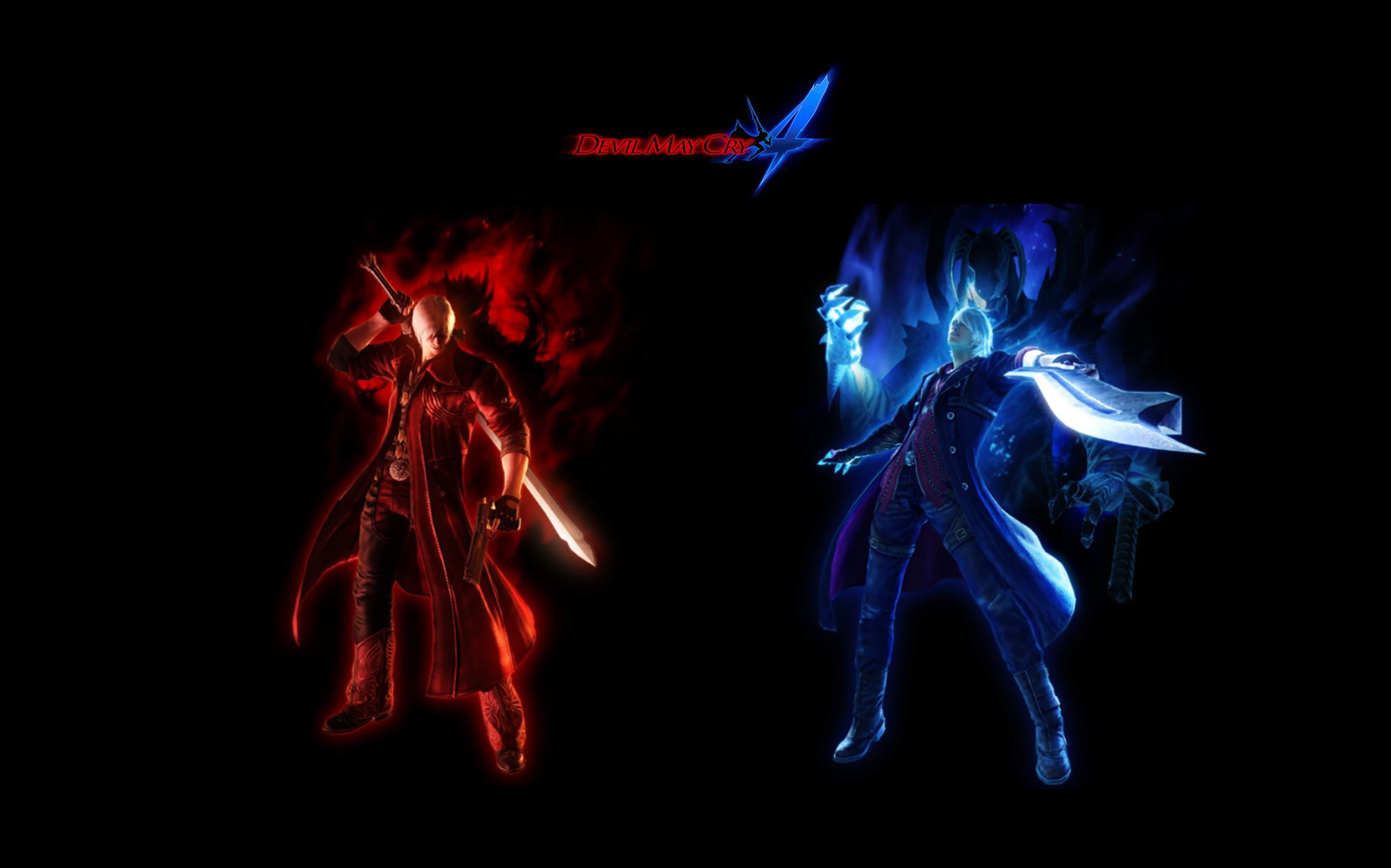 Devil May Cry 4 Dante and Nero by TrogdorTehBurninator on DeviantArt