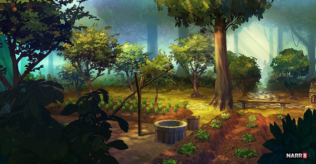 Garden by O-l-i-v-i