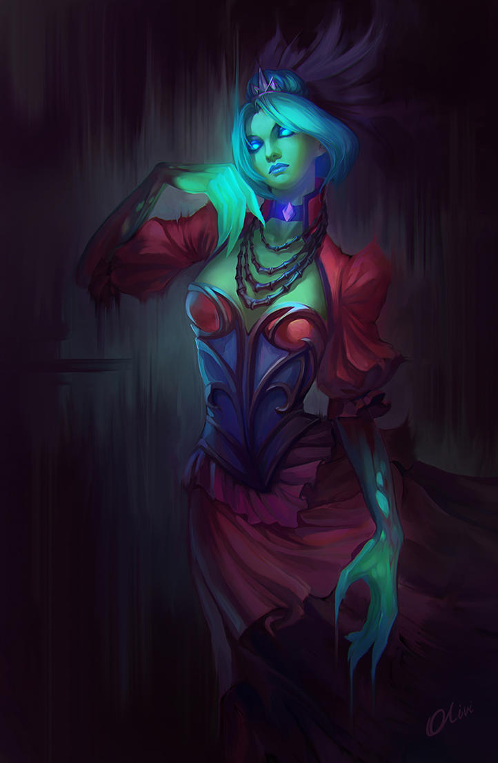 Death Prophet from Dota 2 by O-l-i-v-i on DeviantArt