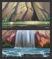 Rocks by O-l-i-v-i